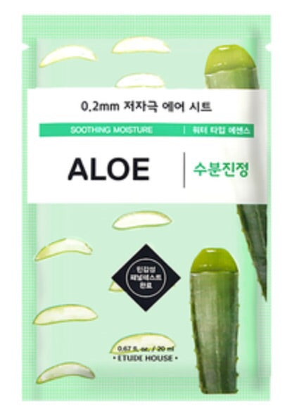 [Etude House] 0.2mm Aloe Therapy Air Sheet Mask