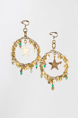STARRY LOOP earrings