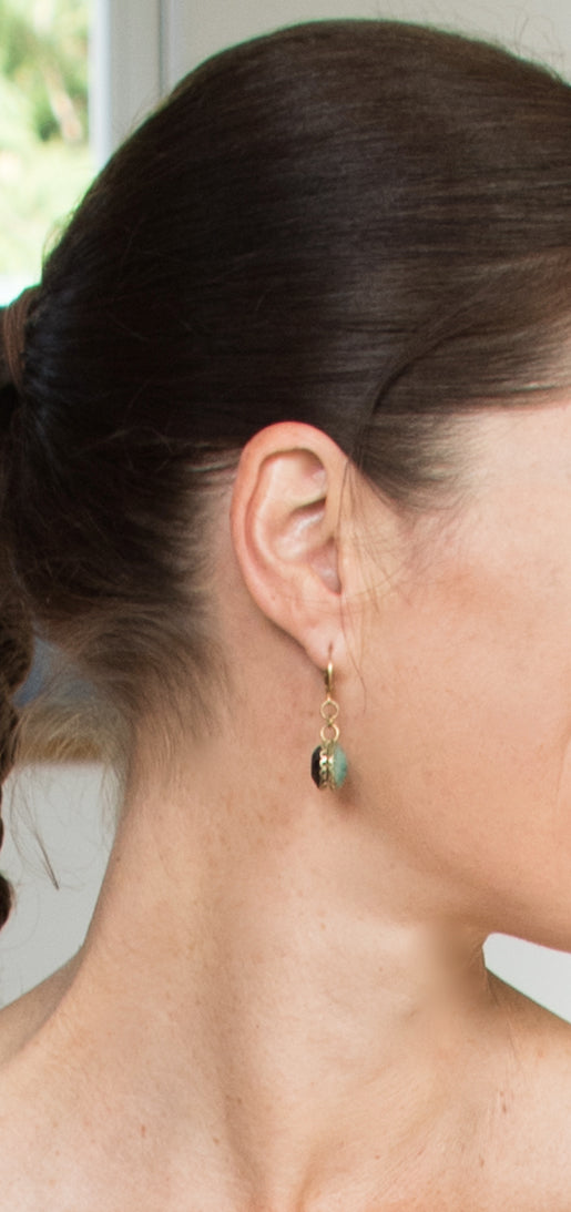 CRYSTAL RICH DOUBLE Earrings