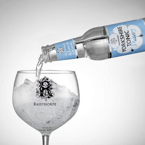 April Special Offer - 35cl Distilled Yorkshire Dry Gin and 6 bottles of Skinny Premium Tonic