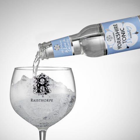 April Special Offer - 35cl Oak Aged Yorkshire Dry Gin and 6 bottles of Skinny Premium Tonic