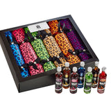 Coloured Leopard Tipple Crackers Pack of 6