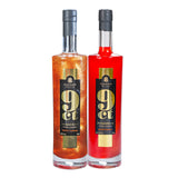 9ct Shimmering Blood Orange/Toffee Caramel Vodka Liqueur Double 70cl