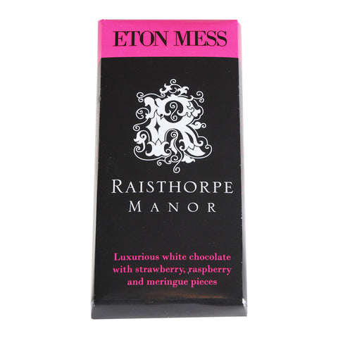 Eton Mess Chocolate Bar
