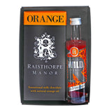 Orange Chocolate Bar with Vodka Gift Set