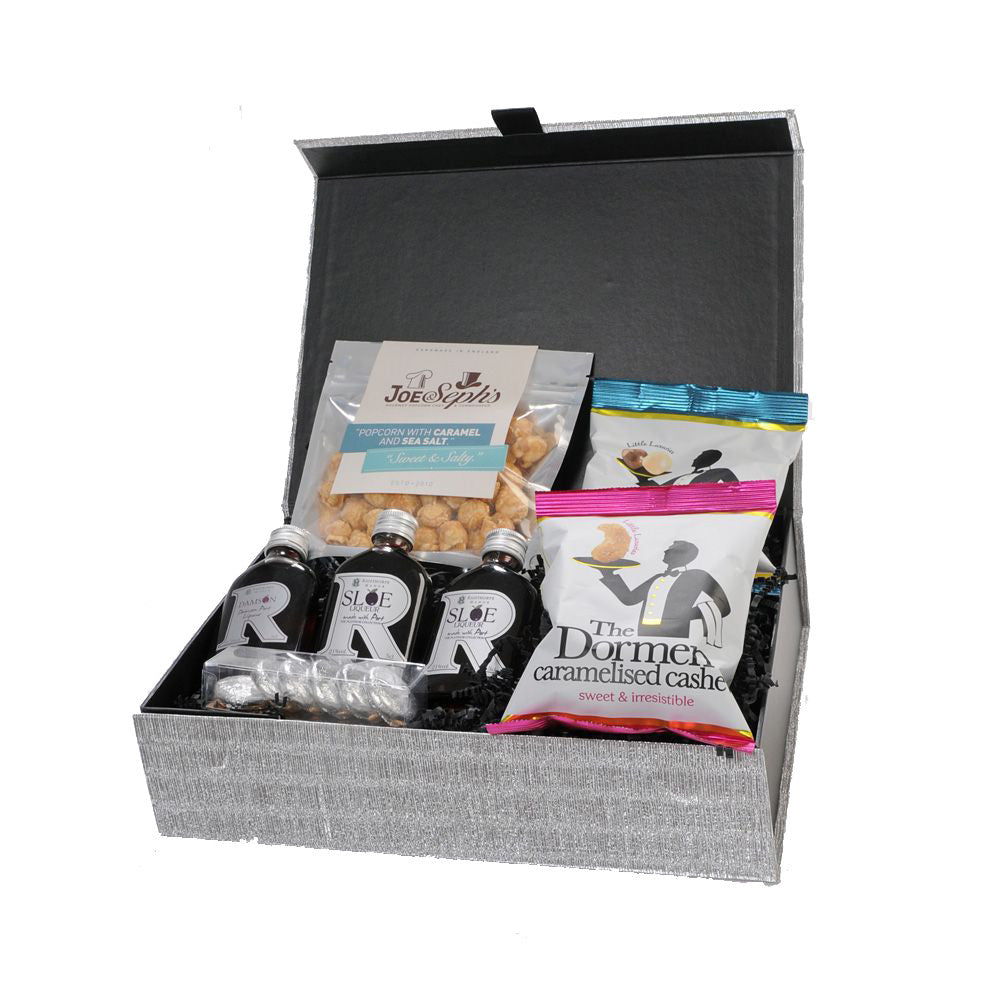 Silver Tipple Treat Box Set