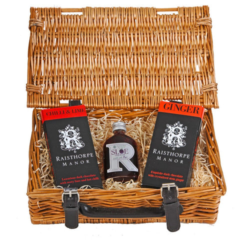 Sloe Port and Chocolate Selection Hamper