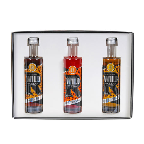 Wild Vodka Liqueur 5cl Triple Set 1