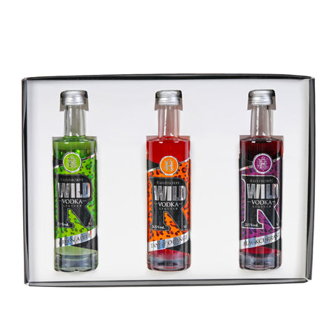 Wild Vodka Liqueur 5cl Triple Set 3