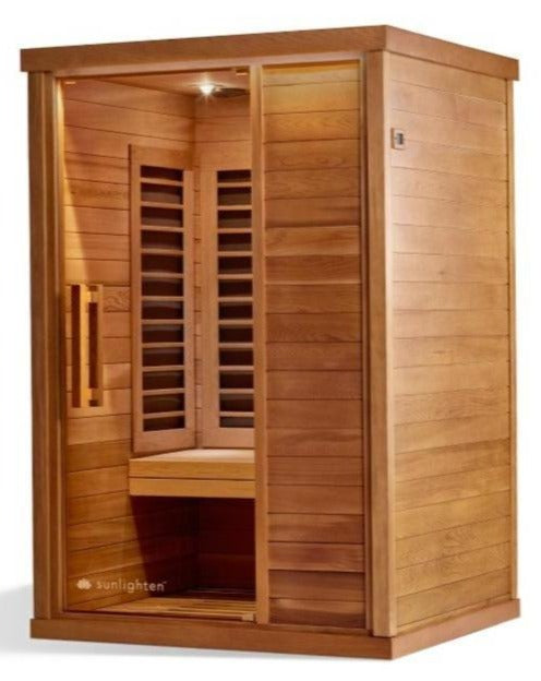 Single session infra red sauna