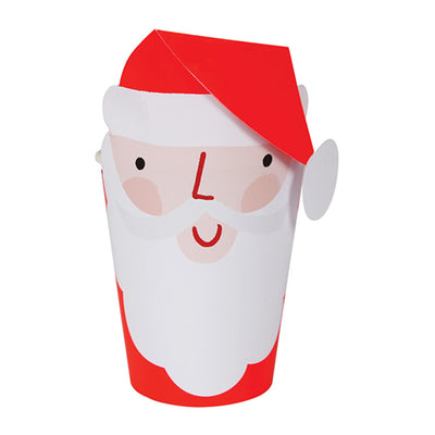 Santa Holiday Party Cups