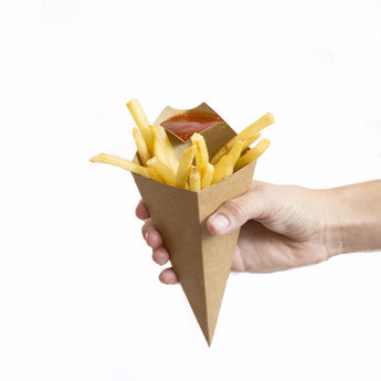 french fry food cone