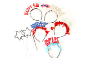 'Merica 4th of July Party Headband Pack