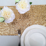 Gold Sequin Table Runner