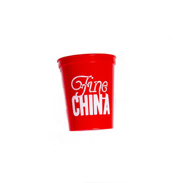 Fine China Stadium Cups