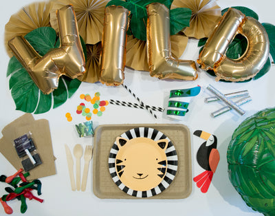 Go Wild! Jungle Birthday Party in a Box