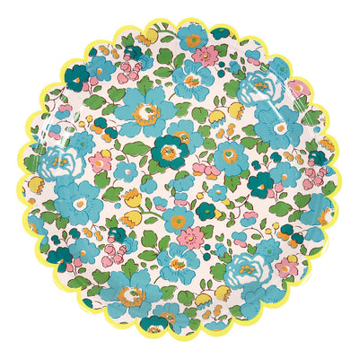Liberty Floral Scalloped Small Plate