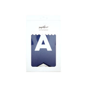 Say What You Want Navy Blue Letter Banner
