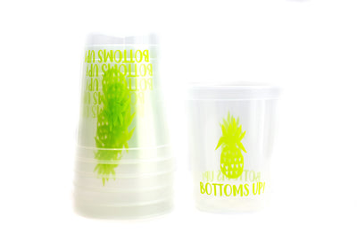 Pineapple Stadium Cups