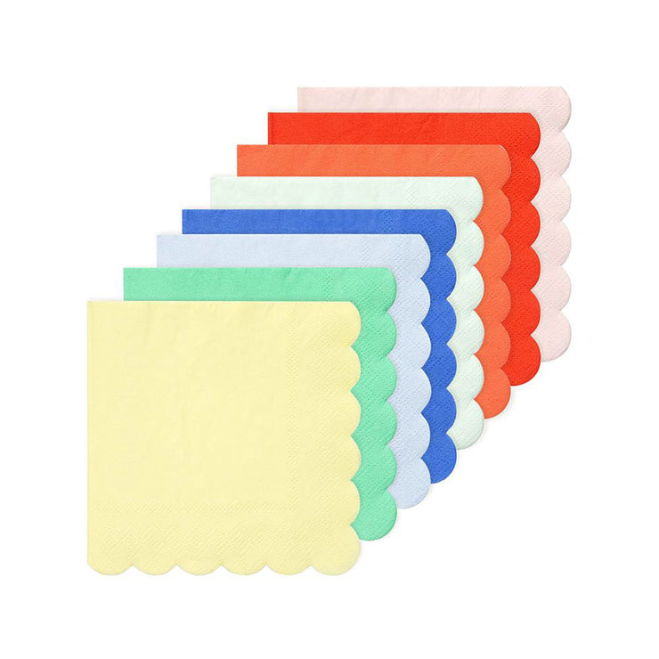 Rainbow Party Palette Small Napkins