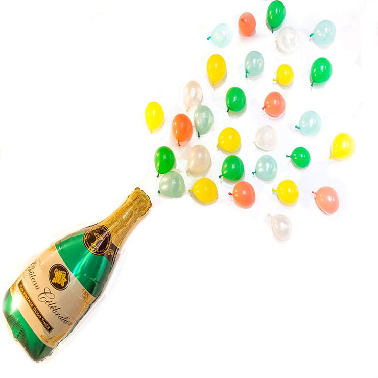 Pop the Bubbly! Multi-Colored Balloon Pack
