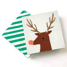Rudolph Cocktail Napkins