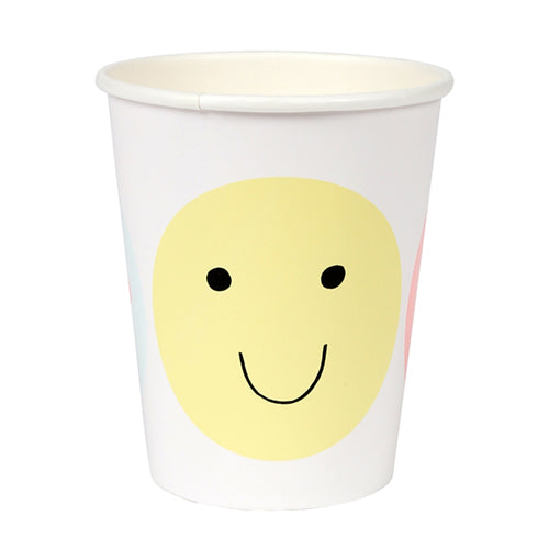 smiley emoji cups
