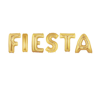 FIESTA Letter Balloon Pack