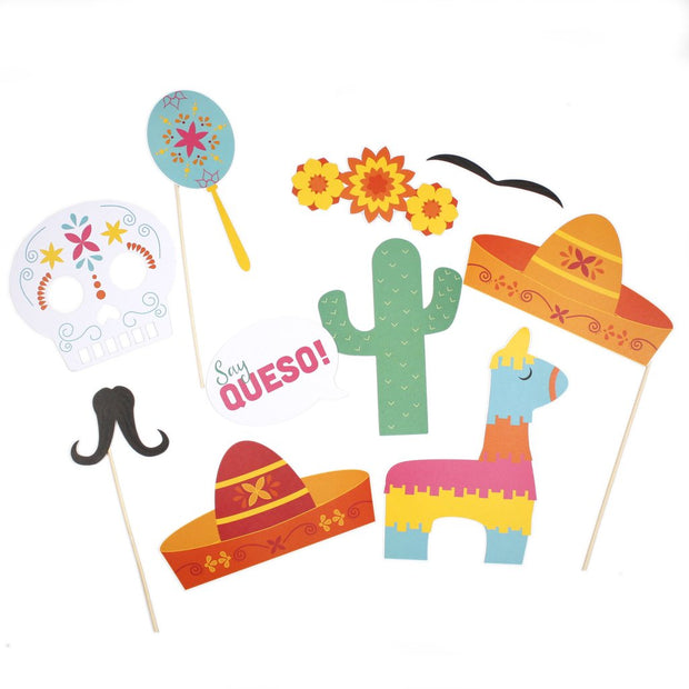 Fiesta Party Photo Booth Props