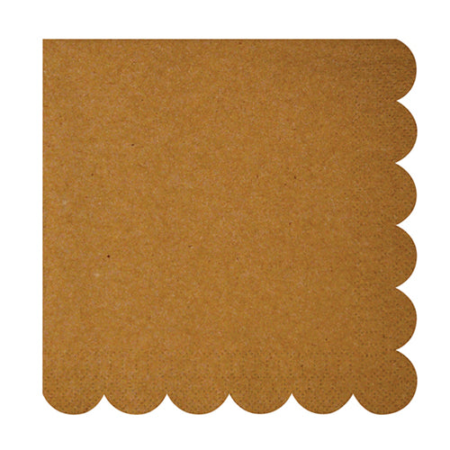 Kraft Scalloped Luncheon Napkins