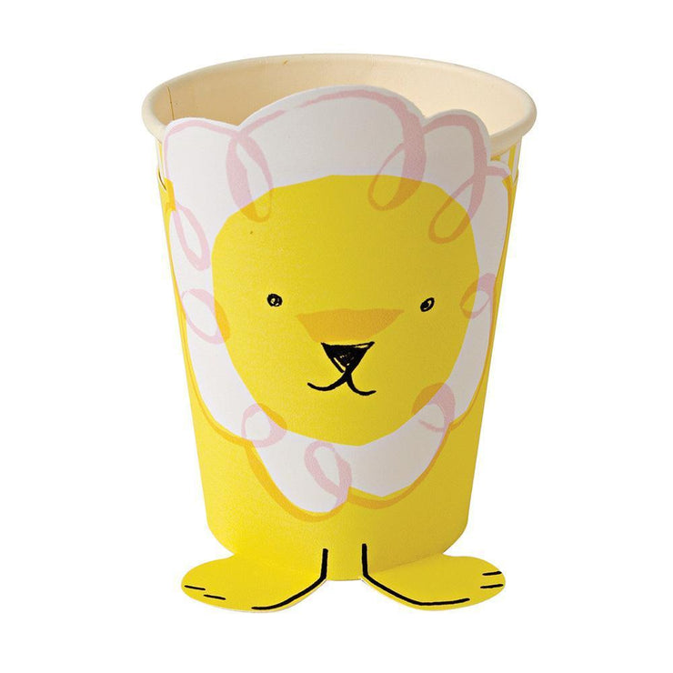 Silly Lion Party Cups