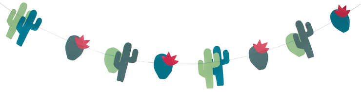 cactus party garland