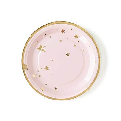 Baby Pink Star Plates