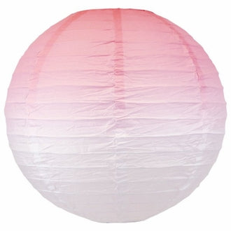 Pixie Pink Ombre Paper Lantern