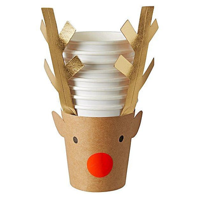 Rudolph Holiday Party Cups