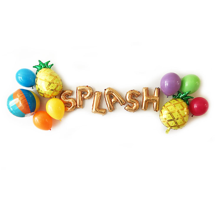 Splash! Party Balloon Pack