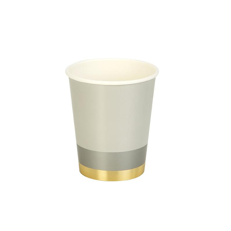 Modern Metallics Party Cups
