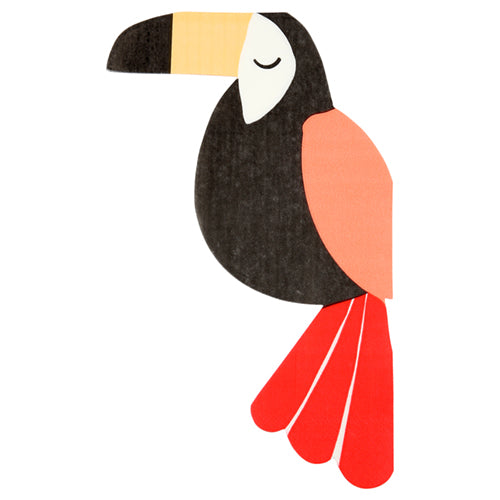 Jungle Toucan Luncheon Napkins
