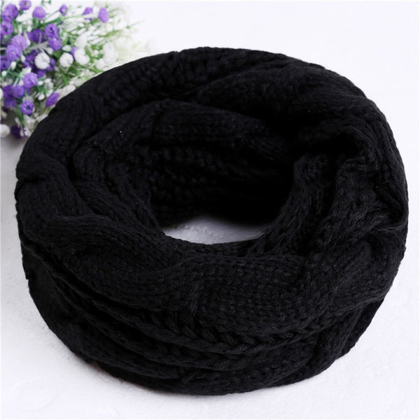 Winterwrap™ Knitted Infinity Scarves