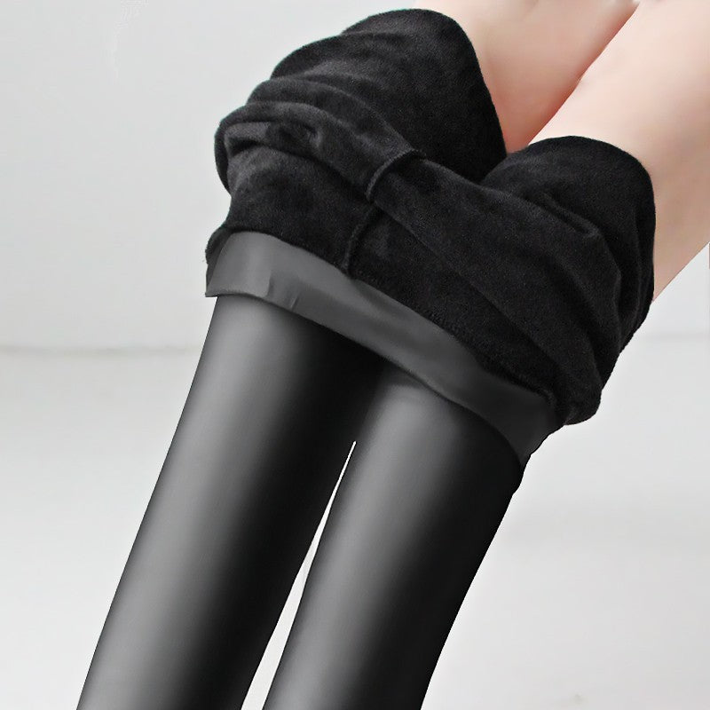 Leathings™ Leather - Velvet Cashmere Soft Winter Leggings