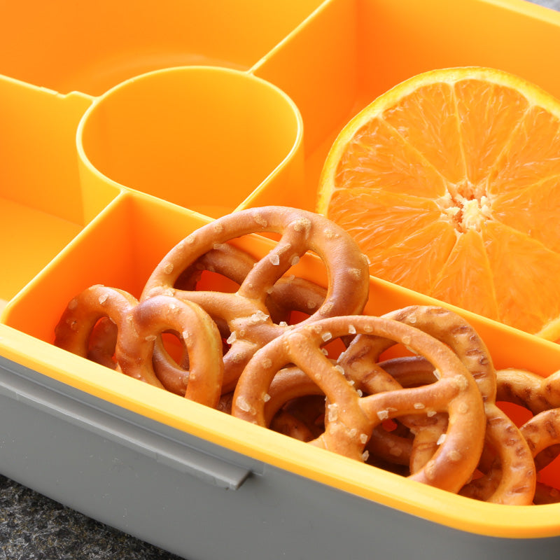 eSeasons Compartment Bento Lunchboxes Orange Collection