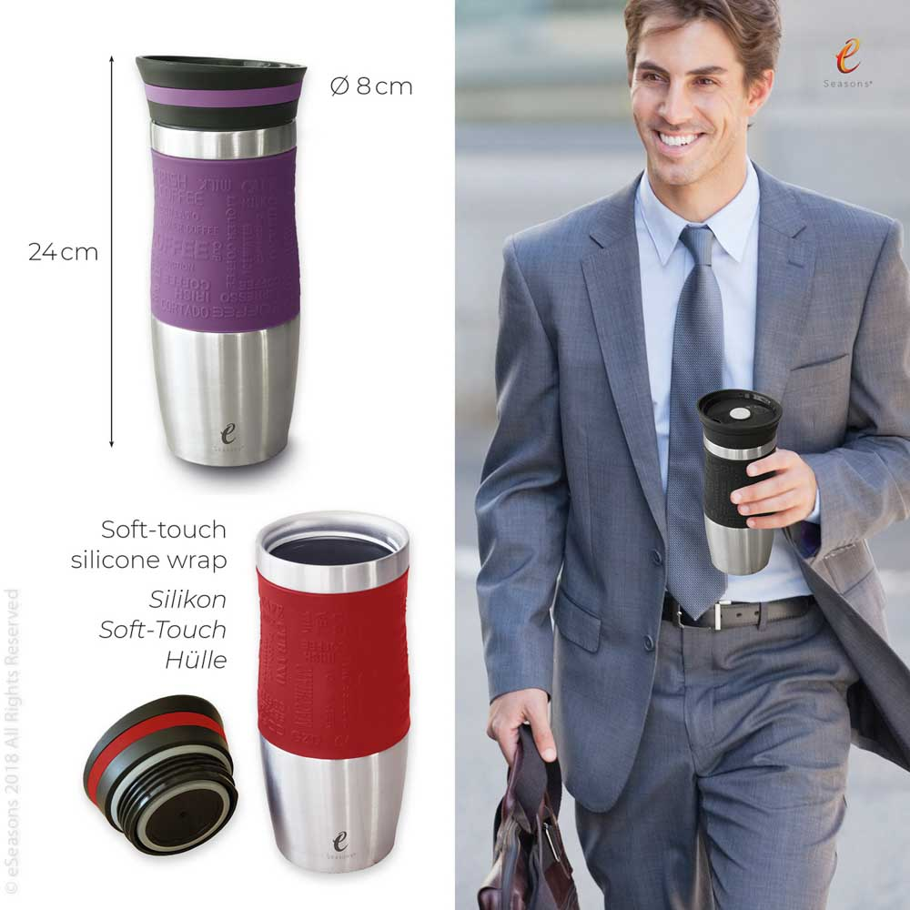 eSeasons Vacuum Insulated Reusable Coffee Cup: Sizing guide