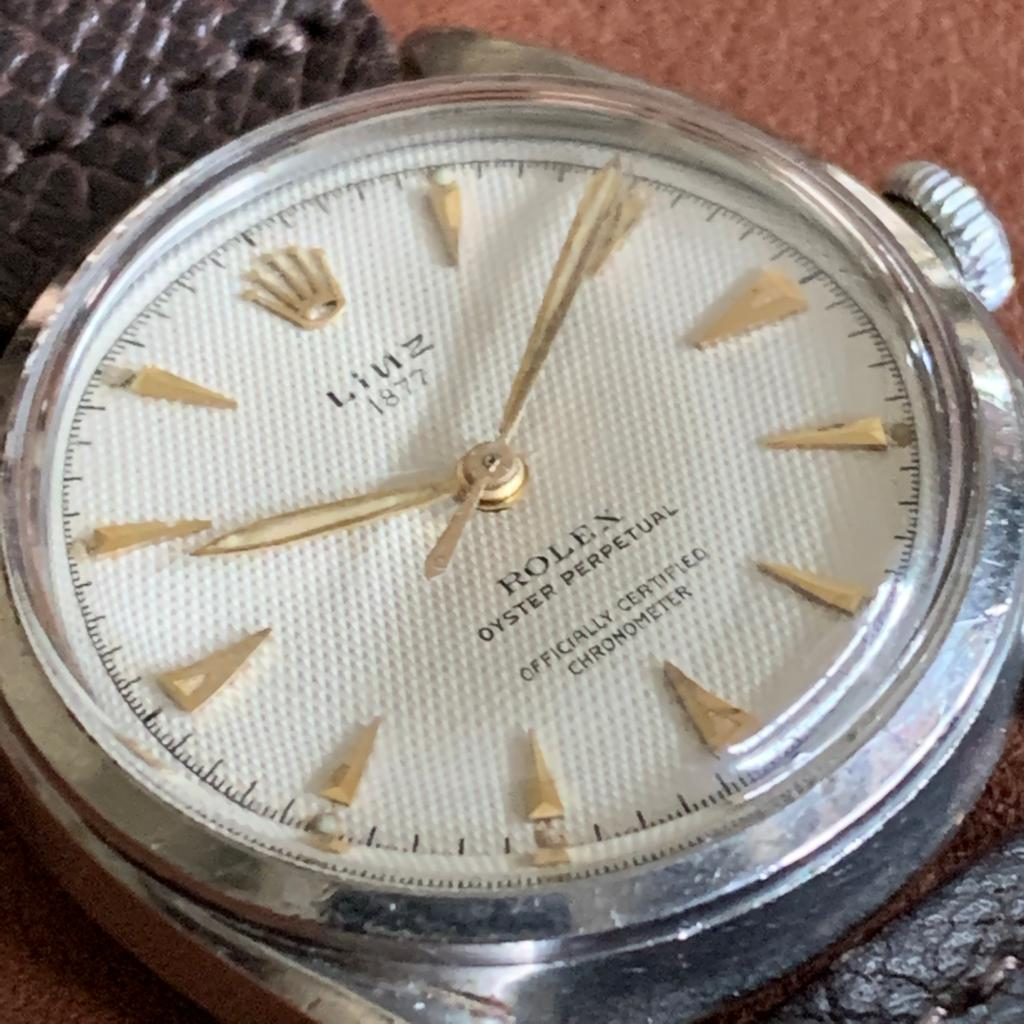 Rolex Bombay retailed by Linz