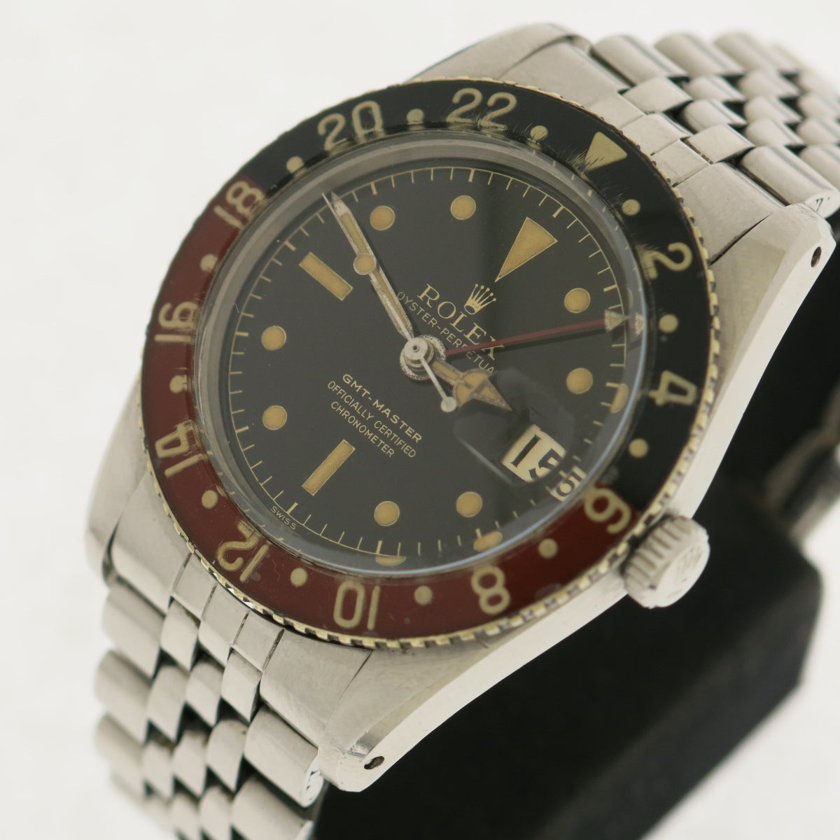 Rolex Oyster Perpetual Gmt Master ref. 6542 Bachelite bezel