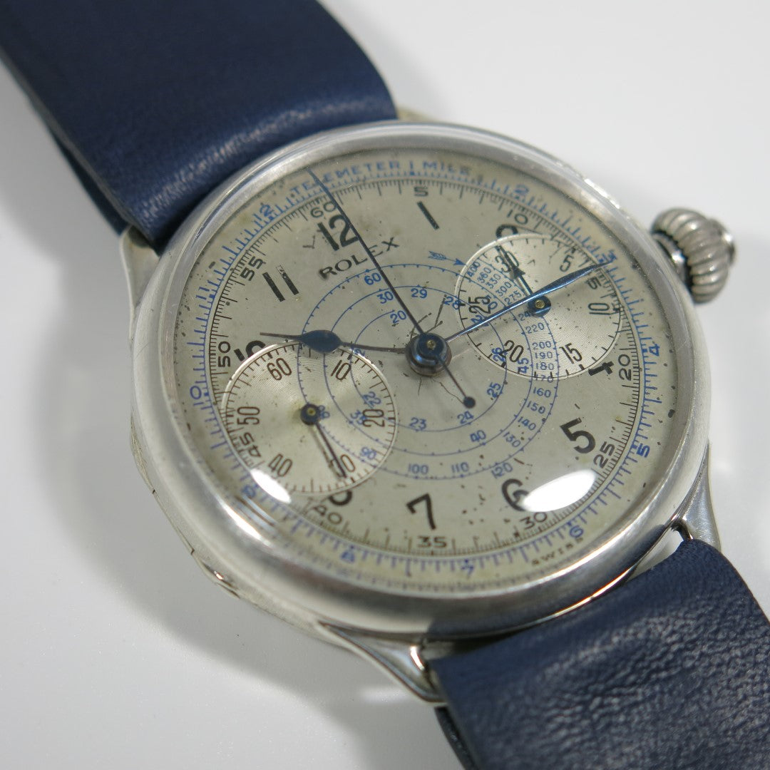 Rolex single pusher chronograph