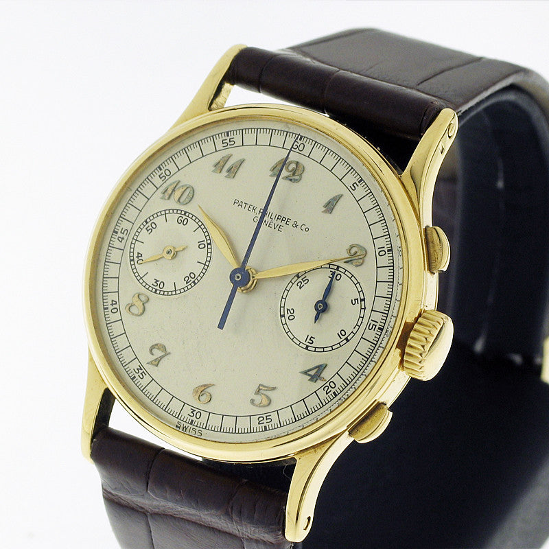 Patek Philippe 130 Big Eye Breguet Indexes