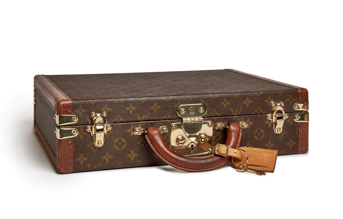 Watch Holder handmade in Italy - Louis Vuitton 1960's suitcase