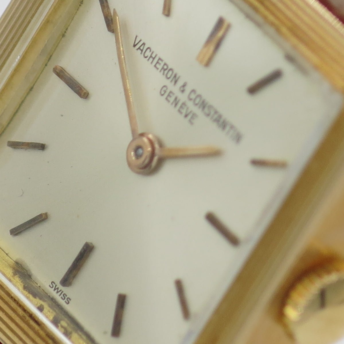 Vacheron Constantin lady wristwatch in 18 kt yellow gold