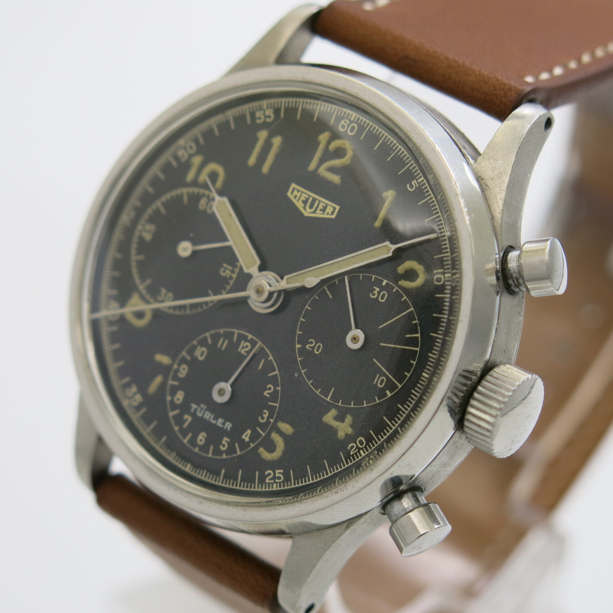 Heuer Chronograph retailed by Türler