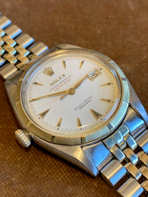 Rolex ref. 6305 Left - handed big Bubbleback